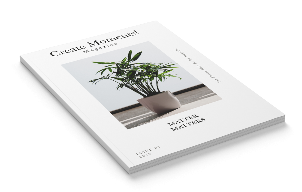 Create Moments! Magazine_Florian Wille Design