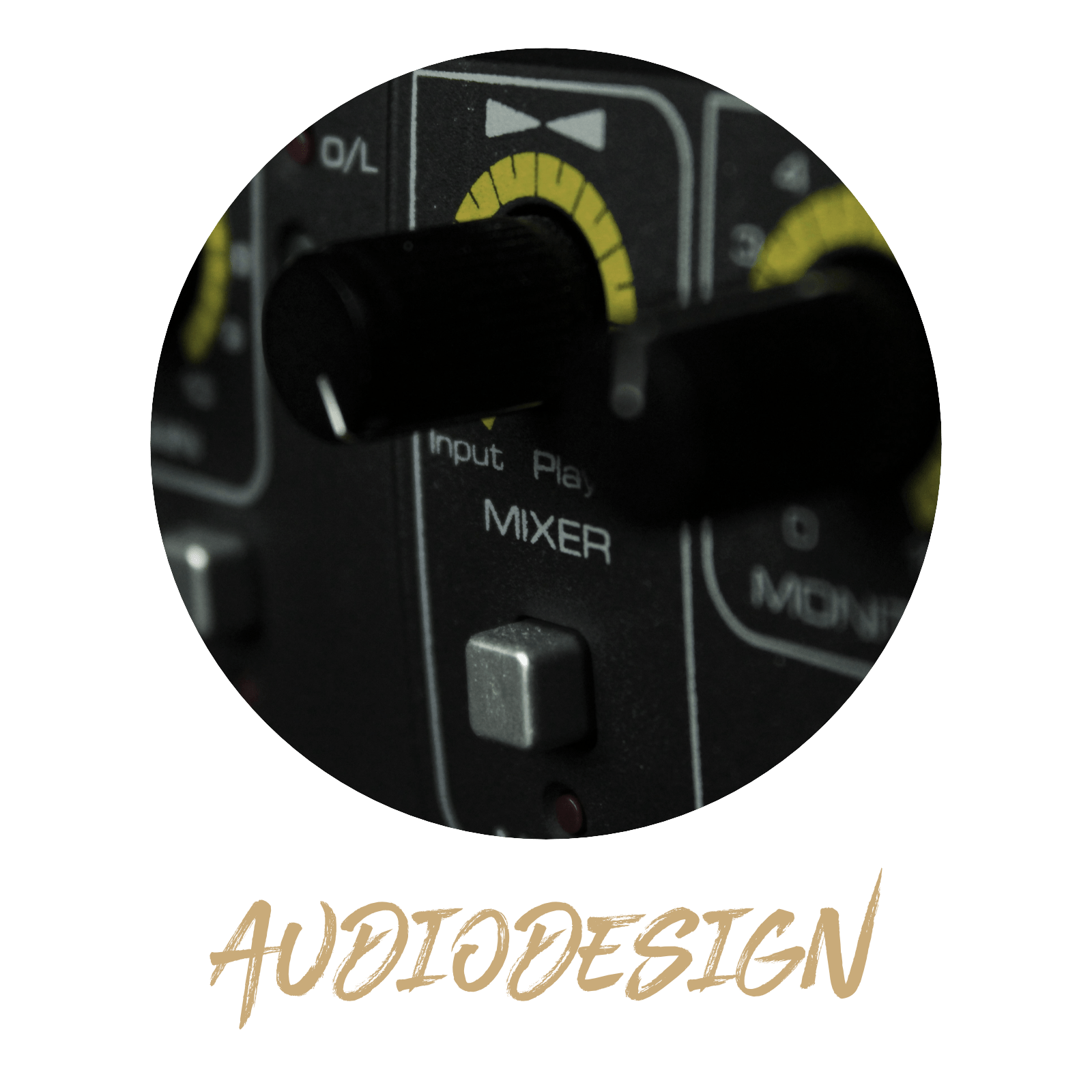 Website Header Buttons audiodesign